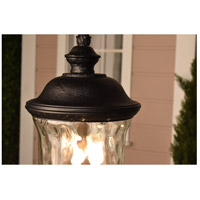 Maxim 40425WGOB Carriage House VX 3 Light 31 inch Oriental Bronze Outdoor Wall Mount alternative photo thumbnail