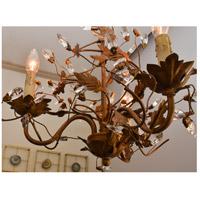 Maxim 2854EG Elegante 4 Light 22 inch Etruscan Gold Entry Foyer Pendant Ceiling Light