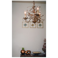 Maxim 2850OI Elegante 3 Light 19 inch Oil Rubbed Bronze Mini Chandelier Ceiling Light  alternative photo thumbnail