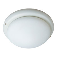 Maxim Lighting Basic-Max 1 Light Ceiling Fan Light Kit in White FKT006WT photo thumbnail