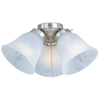 Maxim FKT207FTSN Basic-Max 3 Light Incandescent Satin Nickel Ceiling Fan Light Kit