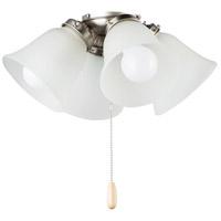 Maxim FKT210FTSN Basic-Max LED Satin Nickel Ceiling Fan Light Kit