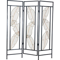 Signature 72 inch Room Divider, 72 Inch, Palm Leaf