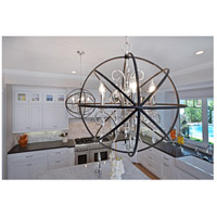Maxim 25145OI Orbit 9 Light 30 inch Oil Rubbed Bronze Single-Tier Chandelier Ceiling Light alternative photo thumbnail
