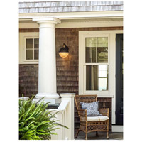 Maxim 10187OIAB Portside 1 Light 12 inch Oil Rubbed Bronze and Antique Brass Outdoor Pendant alternative photo thumbnail