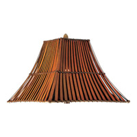 Maxim Lighting Bali Shade in Russet SHD52RT