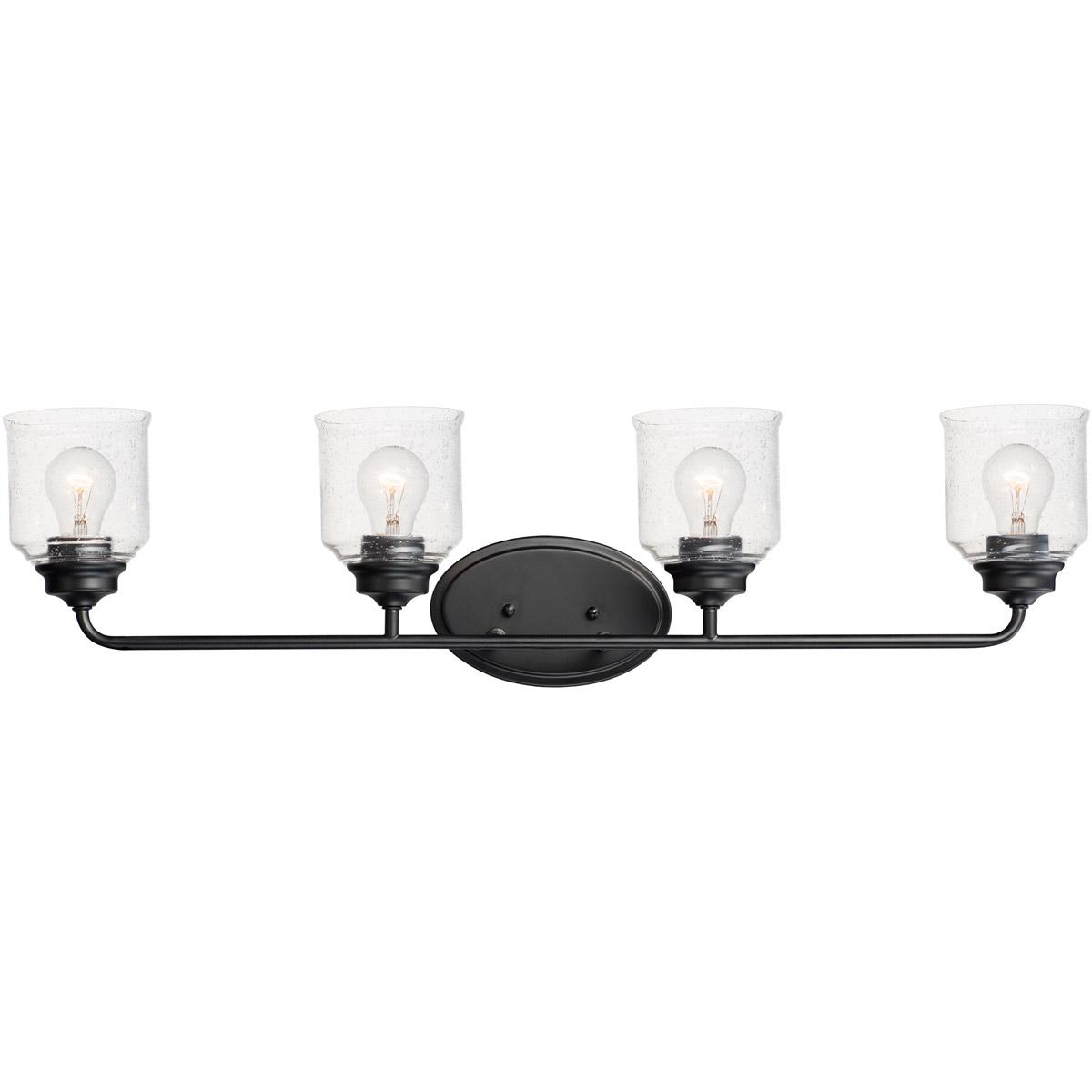 Details About Maxim Lighting 12264cdbk Acadia 4 Light 35 Inch Black Vanity Wall