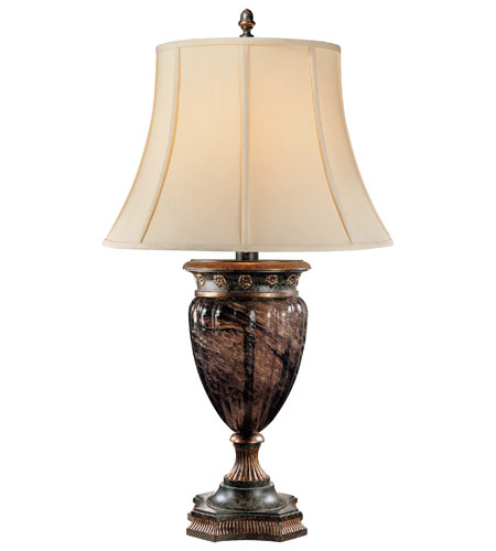 Metropolitan Sanguesa 1 Light Table Lamp in Sanguesa Patina N12344-194 photo