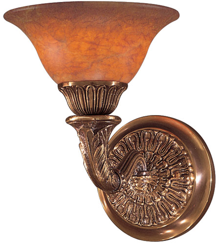 Metropolitan N202501-AN Signature 1 Light 8 inch Antique Bronze Wall Sconce Wall Light photo