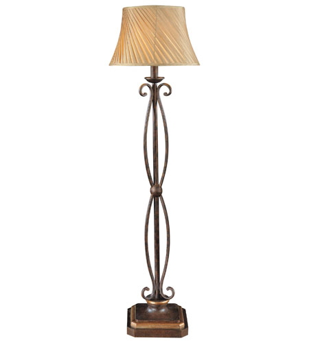 Metropolitan Zaragoza 1 Light Floor Lamp in Golden Bronze N22347-355 photo