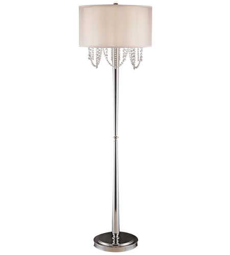 Metropolitan Walt Disney Signature Fantasy 2 Light Floor Lamp in Chrome N22370-77 photo