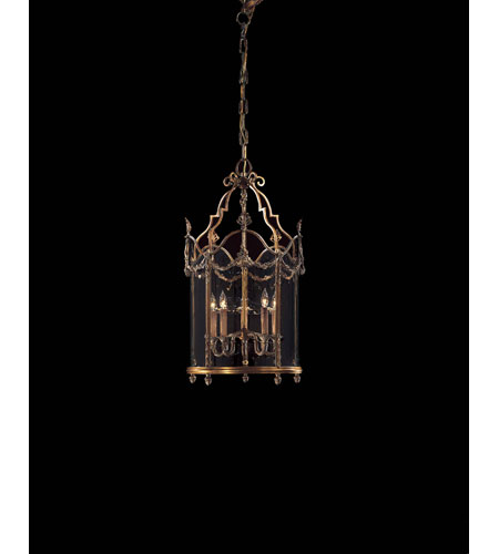 Metropolitan Signature 5 Light Pendant in Antique French Gold N2311 photo