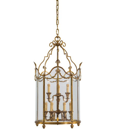 Metropolitan N2312 Signature 9 Light 23 inch Antique French Gold Pendant Ceiling Light photo