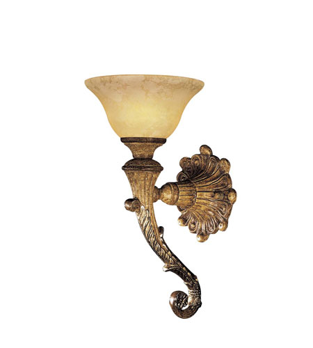 Metropolitan Navarra 1 Light Wall Sconce in Tuscan Patina N2361-196 photo