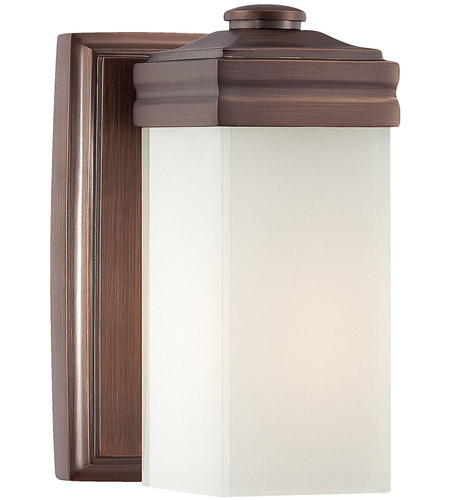 Metropolitan Signature 1 Light Bath in Dark Brushed Bronze N2811-267 photo