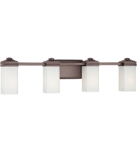 Metropolitan Signature 4 Light Bath in Dark Brushed Bronze N2814-267 photo