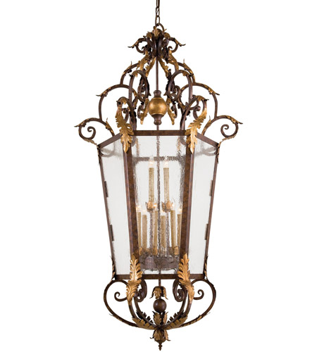 Metropolitan Zaragoza 12 Light Pendant in Golden Bronze N3642-355 photo