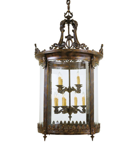 Metropolitan Metropolitan Family 12 Light Foyer Chandelier in Aged Bronze N3647 photo