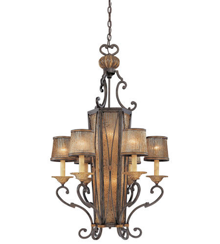 Metropolitan Monte Titano  12 Light Pendant in Monte Titano Oro N6036-159 photo