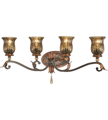 Metropolitan N6074-194 Sanguesa 4 Light 33 inch Sanguesa Patina Bath Bar Wall Light photo