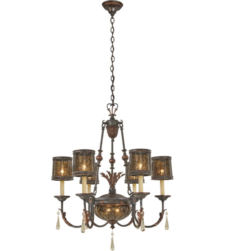 Metropolitan N6076-194 Sanguesa 8 Light 30 inch Sanguesa Patina Chandelier Ceiling Light photo