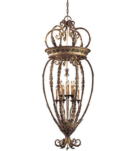 Metropolitan N6220-363 Signature 12 Light 27 inch Padova Chandelier Ceiling Light photo