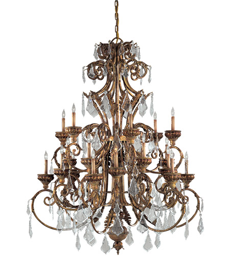 Metropolitan N6229-363 Signature 24 Light 51 inch Padova Chandelier Ceiling Light photo
