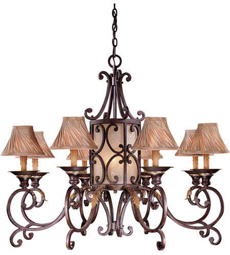 Metropolitan Zaragoza 11 Light Chandelier in Golden Bronze (shade sold separately) N6244-355 photo