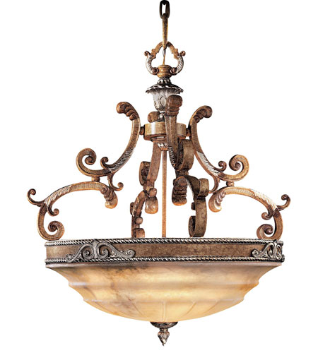 Metropolitan Cantabria 8 Light Pendant in Tuscan Patina N6344-196 photo