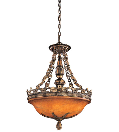 Metropolitan Tarragova 5 Light Pendant in Tarragova Bronze N6395-475 photo