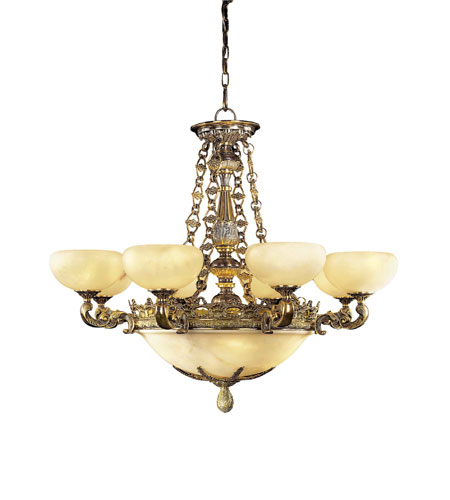 Metropolitan Tarragova 13 Light Chandelier in Antique Bronze N6398-AN photo
