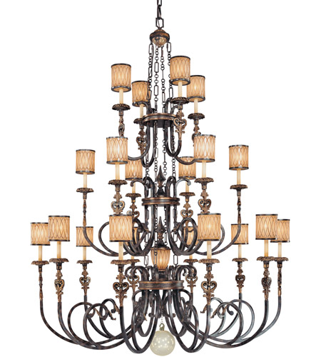 Metropolitan Terraza Villa 20 + 1 Light Chandelier in Terraza Villa Aged Patina N6487-270 photo