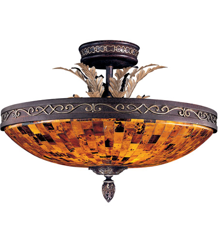 Metropolitan N6520-468 Salamanca 6 Light 24 inch Cattera Bronze Semi Flush Mount Ceiling Light photo