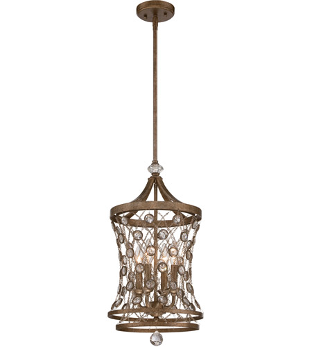 Metropolitan N6584-272 Vel Catena 4 Light 12 inch Arcadian Gold Mini Pendant Ceiling Light photo