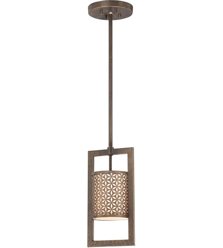 Metropolitan N6721-258 Ajourer 1 Light 7 inch French Bronze Mini Pendant Ceiling Light photo