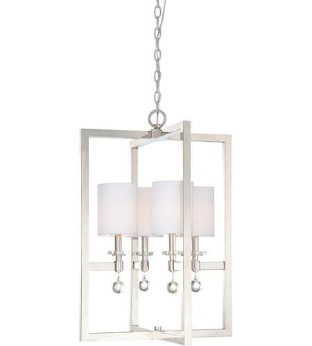 Metropolitan N6841-613 Chadbourne 4 Light 20 inch Polished Nickel Pendant Ceiling Light photo