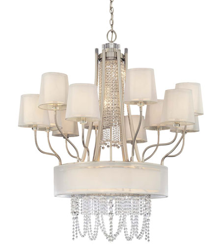 Metropolitan Walt Disney Signature Fantasy 9 Light Chandelier in Brushed Nickel N6906-84 photo
