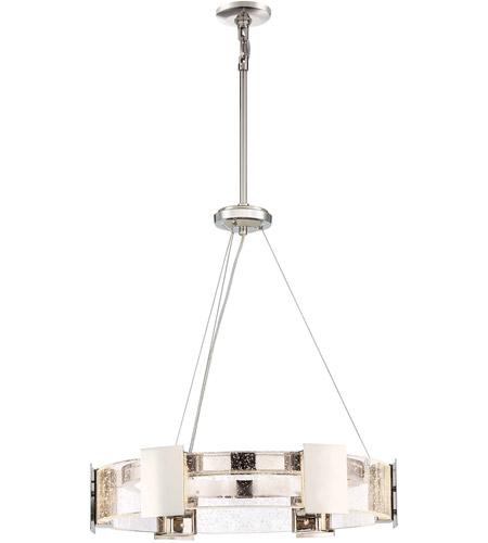 Metropolitan N7236-613-L Stellaris LED 26 inch Polished Nickel Chandelier  Ceiling Light