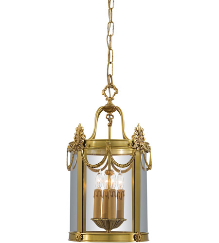 Metropolitan N850704 Signature 4 Light 12 inch Dore Gold Foyer Pendant Ceiling Light photo