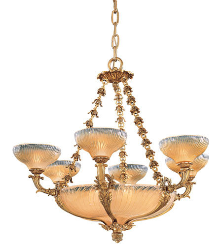 Metropolitan Vintage  12 Light Chandelier in French Gold N9043 photo