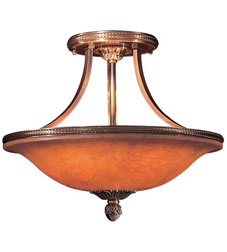 Metropolitan Signature 6 Light Semi Flush in Antique Bronze N9081-AN photo