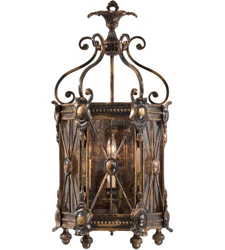 Metropolitan Signature 3 Light Sconce in Bronze Oxide N9300 photo