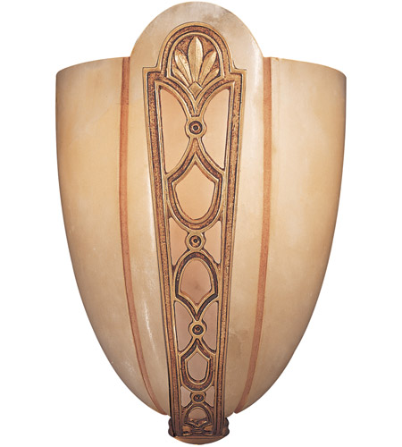 Metropolitan N950166 Signature 1 Light 8 inch French Gold Wall Sconce Wall Light photo