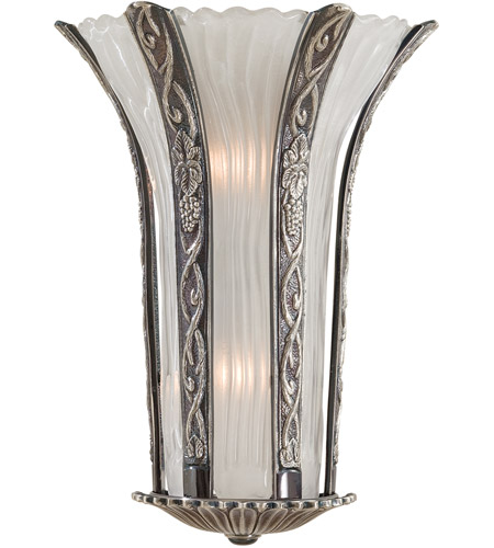 Metropolitan N950334-54B Signature 2 Light 13 inch Platinum Wall Sconce Wall Light in Brass photo