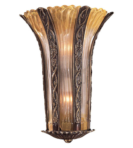 Metropolitan N950334 Signature 2 Light 13 inch Antique Bronze Sconce Wall Light photo