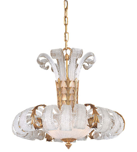 Metropolitan Signature 10 Light Chandelier in French Gold N950384 photo
