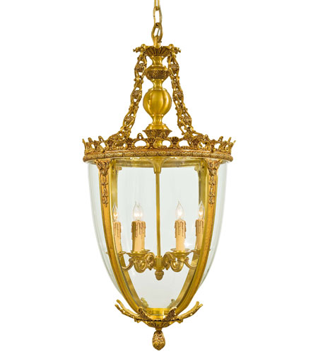 Metropolitan Signature 6 Light Pendant in French Gold N950468 photo