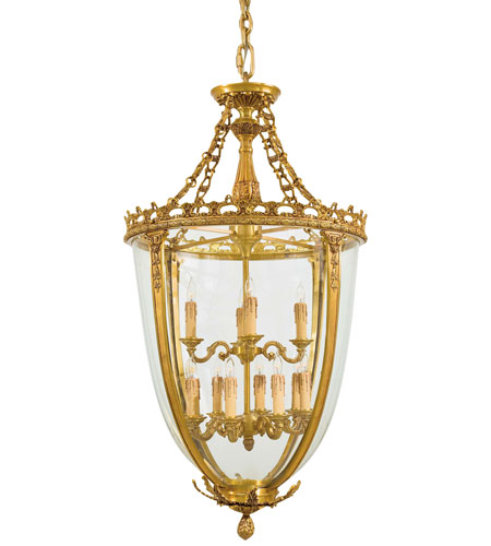 Metropolitan Signature 12 Light Pendant in French Gold N950469 photo
