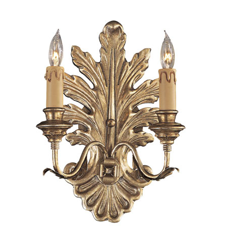 Metropolitan Metropolitan Family 2 Light Wall Sconce in Old Silver N952060 photo