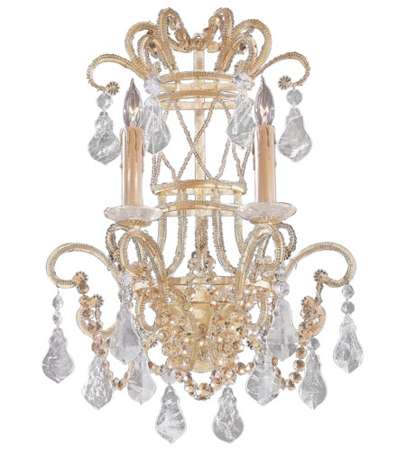 Metropolitan Signature 2 Light Sconce in Ivory N952861 photo